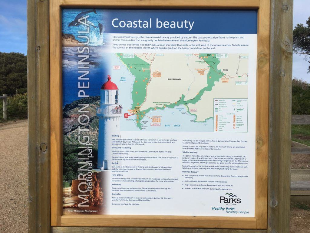 Cape Schanck Lighthouse walking trails
