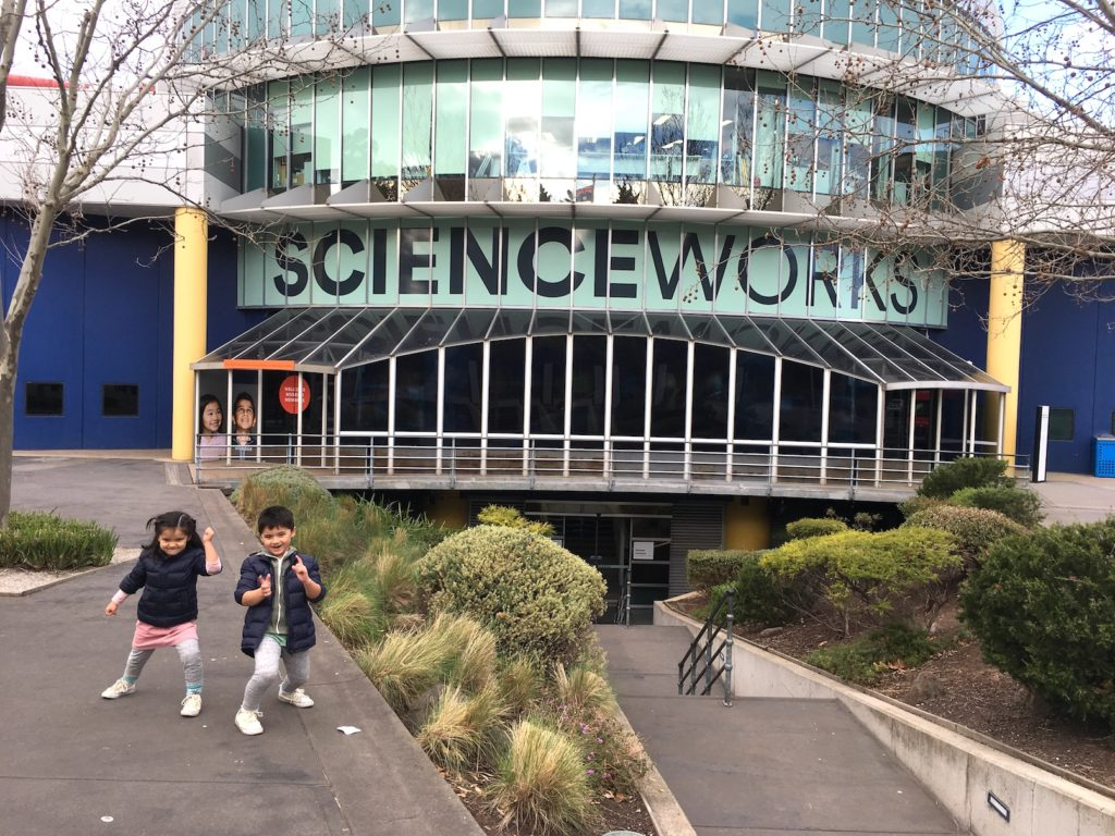 Melbourne Kids Science Works Museum entrance