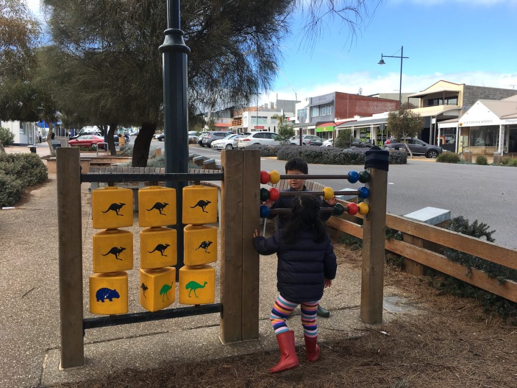 Baby-friendly Chopstix Noodle Bar in Sorrento Mornington Peninsula playground