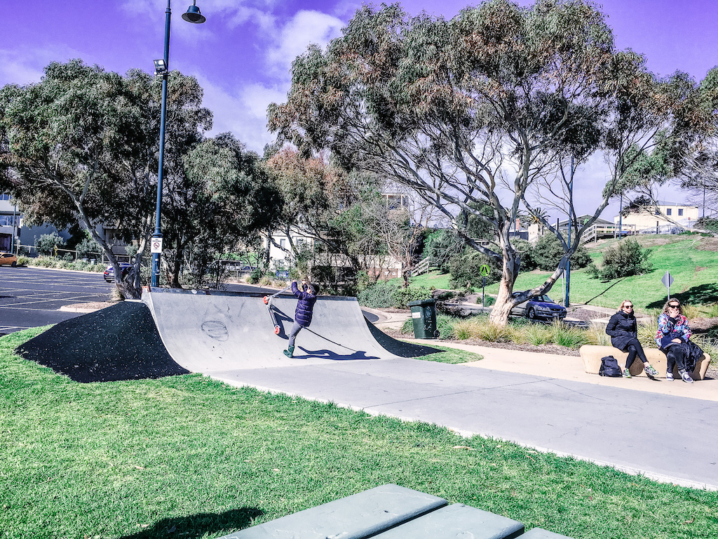 Mornington Peninsula Sorrento kids skate park