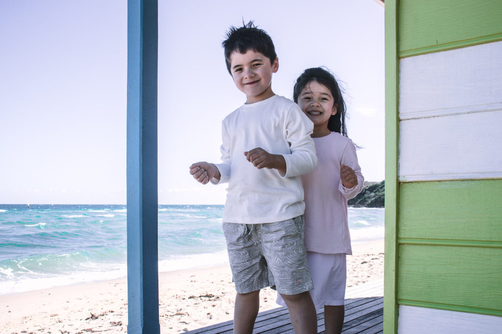 Beach house kids, Mornington Peninsula