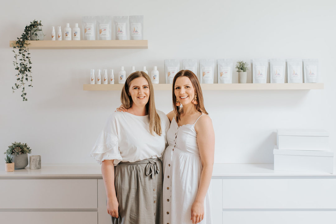 Holly and Marie, founders of Facing Motherhood