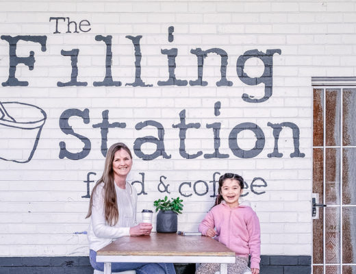 Filling Station Mornington outside seating
